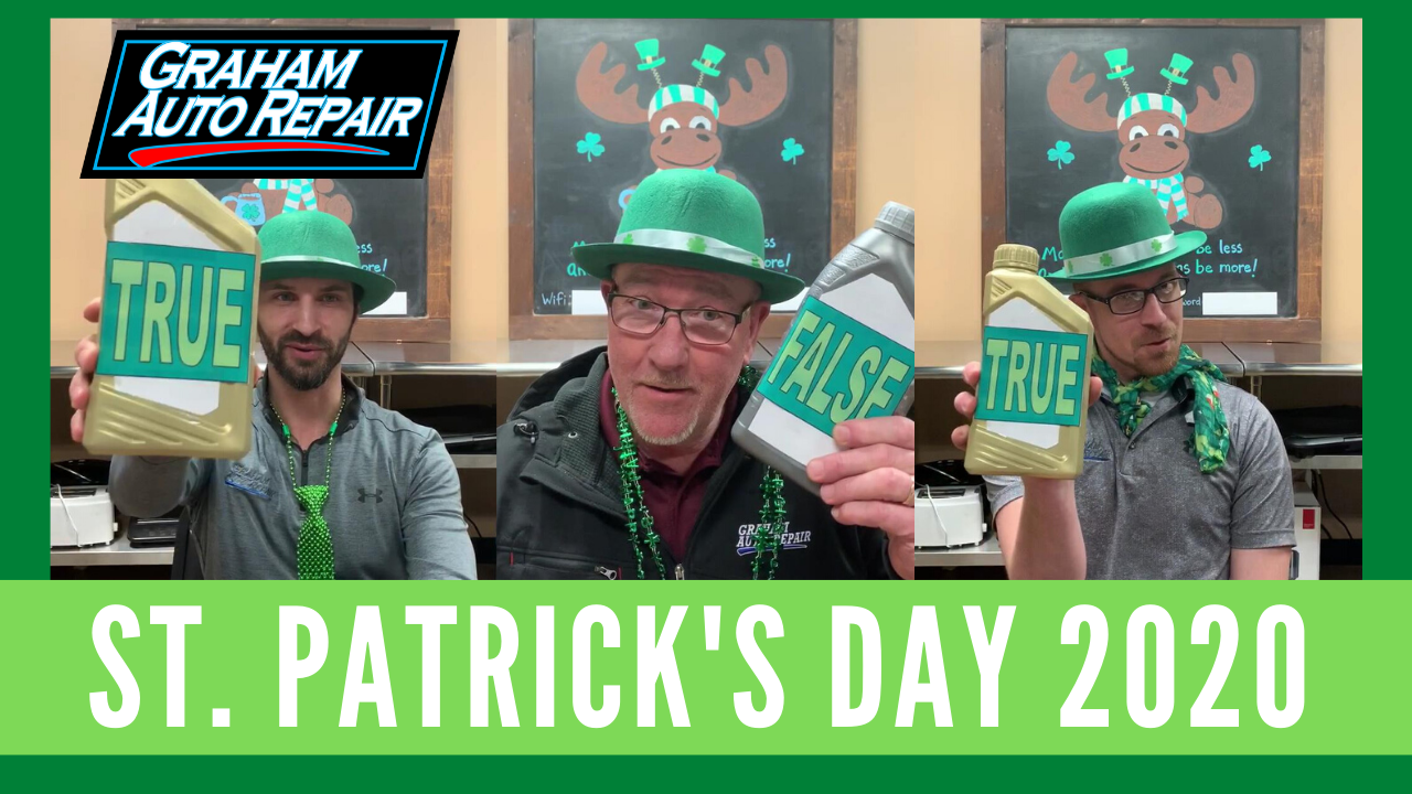 St. Patrick's Day Quiz 2020
