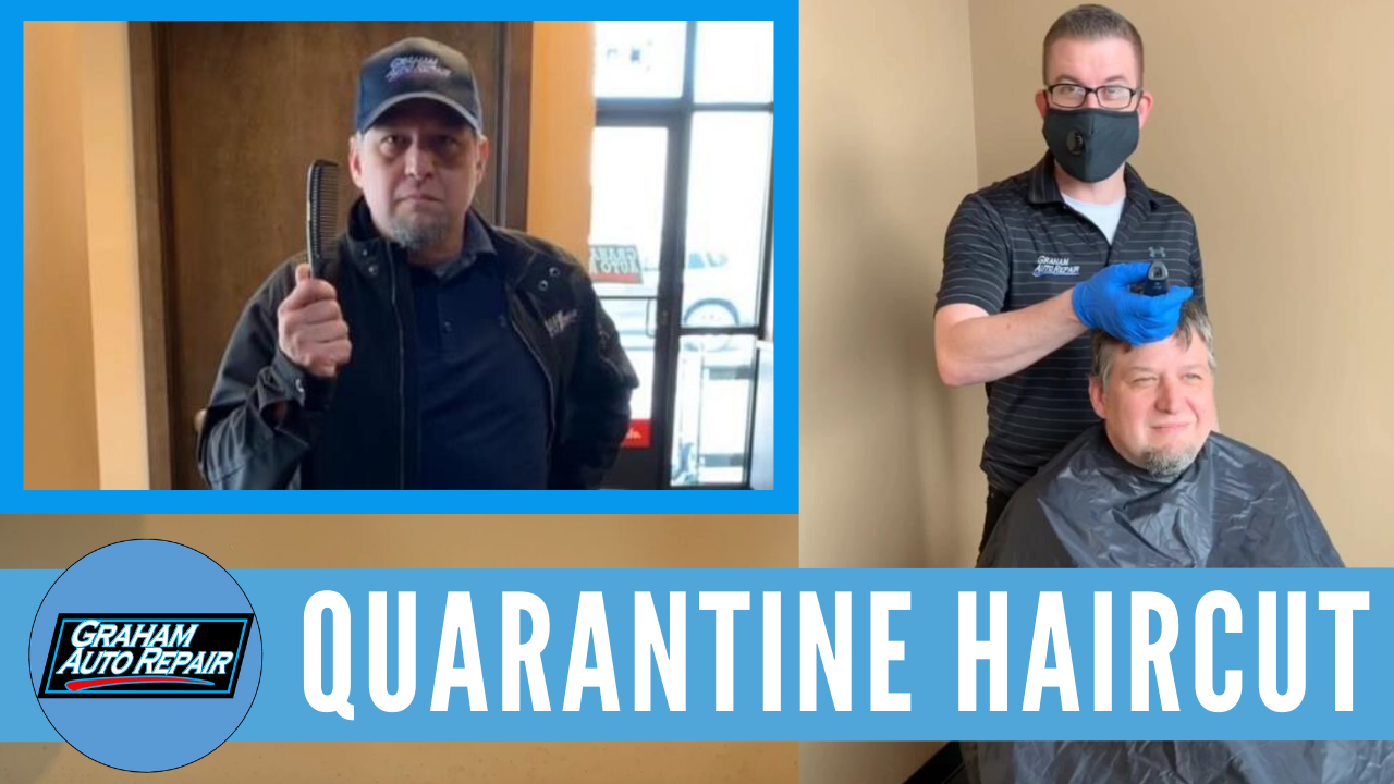 Quarantine Haircut | The Boss Gets a Haircut!
